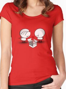 The valentine gift Women's Fitted Scoop T-Shirt