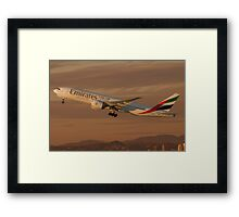 Emirates Framed Print