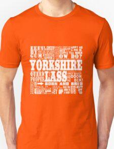 YORKSHIRE LASS WHITE PRINT T-Shirt