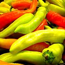 Mixed Peppers at Fruit Shop by EdsMum