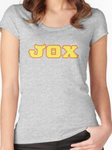 Jaws Theta Chi (Monsters U) Women's Fitted Scoop T-Shirt