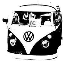 VW Camper by Paul Gillings
