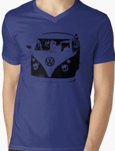 VW Camper Mens V-Neck T-Shirt