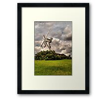 Kentish Smock Mill Framed Print