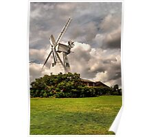 Kentish Smock Mill Poster
