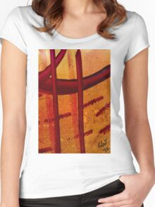 The Crosses Women's Fitted Scoop T-Shirt