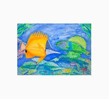tropical fish. yellow and parrott fish. peixe papagaio T-Shirt