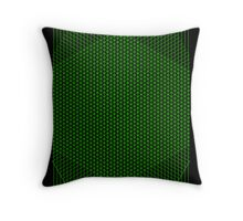Gridlines08 (Signed Print ver.) Throw Pillow