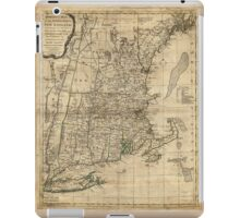 Bowles's Map of the Seat of War in New England (1776) iPad Case/Skin