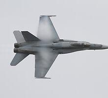 F/A-18 Hornet High speed by Daniel McIntosh