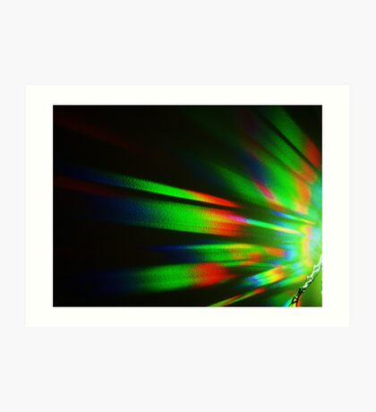 Spectrum - enhanced Art Print