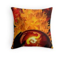 The Dragons Nursery Throw Pillow