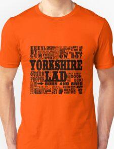 YORKSHIRE LAD BLACK PRINT T-Shirt