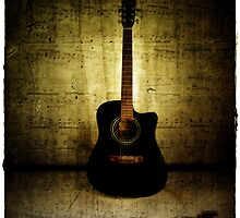 Grunge Guitar by TotoPhotos