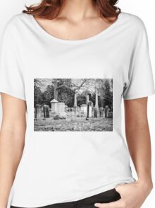 Deep Within Evergreen Cemetery Women's Relaxed Fit T-Shirt