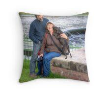 The Australian Invasion of Cumbria Throw Pillow