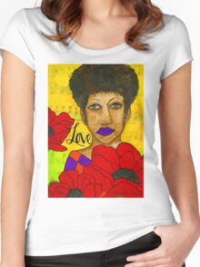 Stung By Love - WIP Women's Fitted Scoop T-Shirt