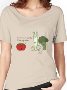 Tomatoes Don't Fit In Women's Relaxed Fit T-Shirt