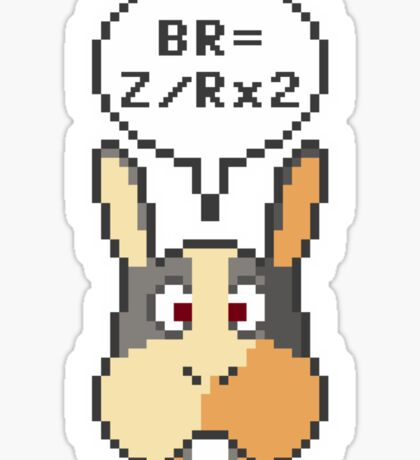 """Peppy Says """"How To Do A Barrel Roll"""" Sticker"""