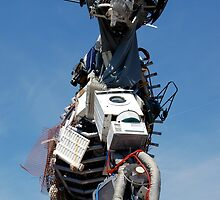 WEEE MAN Waste Electrical and Electronic Recycled Robot by HotHibiscus