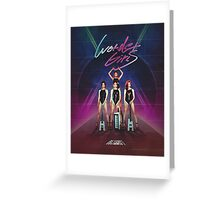 Wonder Girls - Reboot Design Greeting Card