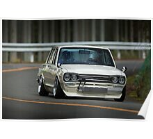 GC10 Skyline in Takao Poster
