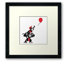 Balloon Apes Framed Print
