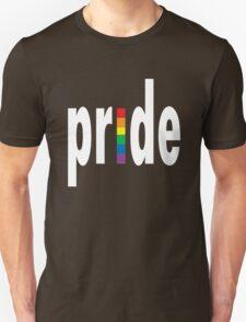 Gay pride dark tees men women geek funny nerd Unisex T-Shirt