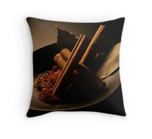 Spices 2 Throw Pillow