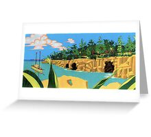 The Caves. Greeting Card