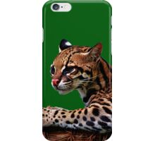 Ocelot Painted 2 iPhone Case/Skin