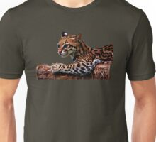 Ocelot Painted 2 Unisex T-Shirt
