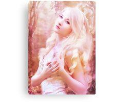 Fairy girl purple Canvas Print