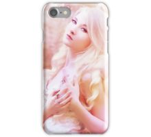 Fairy girl purple iPhone Case/Skin