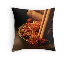 Spices 7 Throw Pillow