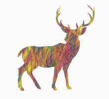 colorful deer T-Shirt