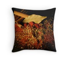 Spices 8 Throw Pillow