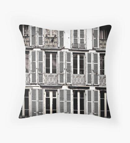 Lisbon Apartments Throw Pillow