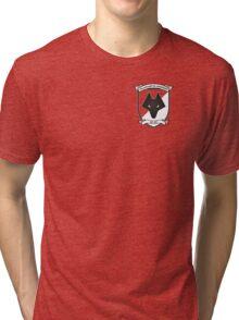 Retro Wolves Badge 1988-1993 Tri-blend T-Shirt