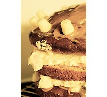 [eye candy] - Banoffee Marshmallow Cake. Photographic Print