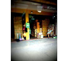 Shop Keeper Photographic Print