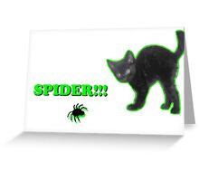 Spider!!! Greeting Card
