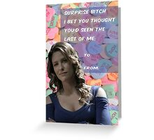 Surprise B*tch Greeting Card