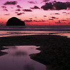 Evening tide - Trebarwith Strand, Cornwall by Adam North