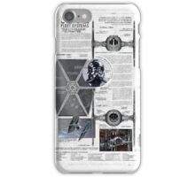 Twin Ion Engine (TIE) Fighter iPhone Case/Skin