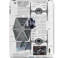 Twin Ion Engine (TIE) Fighter iPad Case/Skin