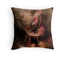 Gabija Fire Storm Throw Pillow