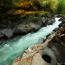 Qu'wutsun River I by EchoNorth