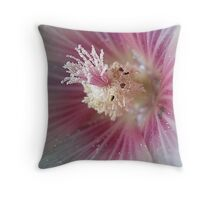Heart flower Throw Pillow
