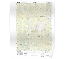 Massachusetts  USGS Historical Topo Map MA Winchendon 20120604 TM Poster